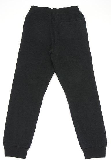 AZUL by moussy(アズールバイマウジー)の古着「モールニット裾リブパンツ(デニムパンツ)」大画像2へ