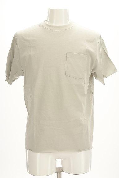 AZUL by moussy(アズールバイマウジー)の古着「ポケットベーシックTシャツ(Tシャツ)」大画像1へ