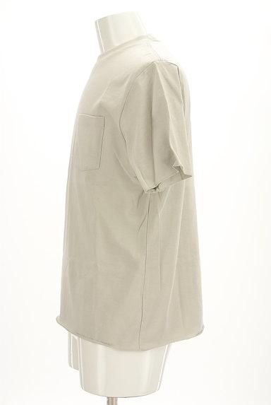 AZUL by moussy(アズールバイマウジー)の古着「ポケットベーシックTシャツ(Tシャツ)」大画像3へ
