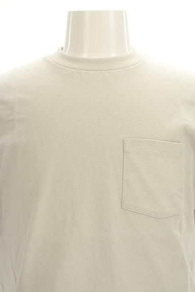 AZUL by moussy(アズールバイマウジー)の古着「ポケットベーシックTシャツ(Tシャツ)」大画像4へ