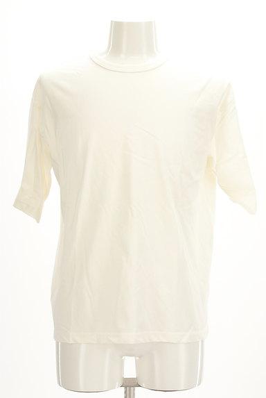 AZUL by moussy(アズールバイマウジー)の古着「オーバーワイド5分袖Tシャツ(Tシャツ)」大画像1へ