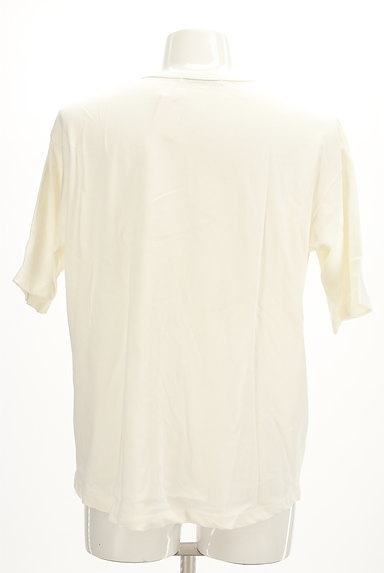 AZUL by moussy(アズールバイマウジー)の古着「オーバーワイド5分袖Tシャツ(Tシャツ)」大画像2へ