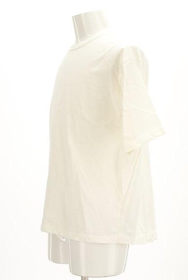 AZUL by moussy(アズールバイマウジー)の古着「オーバーワイド5分袖Tシャツ(Tシャツ)」大画像3へ