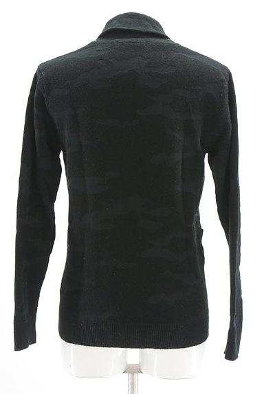 AZUL by moussy(アズールバイマウジー)の古着「迷彩柄編地カーディガン(カーディガン)」大画像2へ