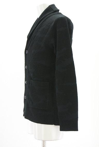 AZUL by moussy(アズールバイマウジー)の古着「迷彩柄編地カーディガン(カーディガン)」大画像3へ