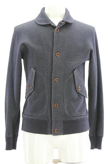 UNITED ARROWS(ユナイテッドアローズ)の古着「デニム風裏起毛ジャケット(ジャケット)」大画像1へ