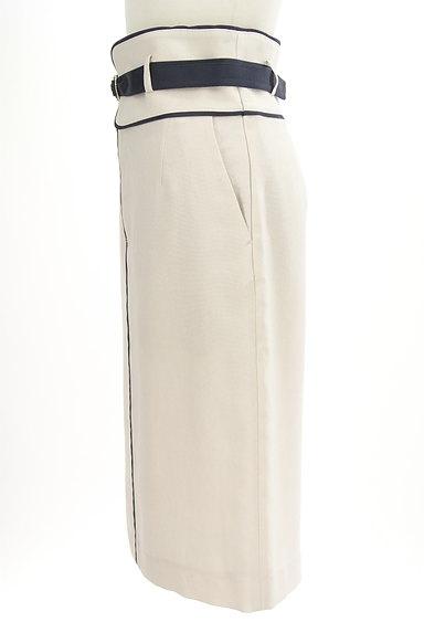 Pinky&Dianne(ピンキー&ダイアン)の古着「ドッキングベルト膝下丈タイトスカート(ロングスカート・マキシスカート)」大画像3へ