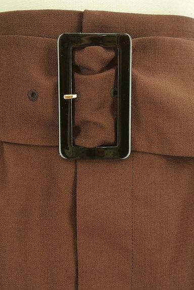 Pinky&Dianne(ピンキー&ダイアン)の古着「ベルト付ミモレ丈スリットタイトスカート(ロングスカート・マキシスカート)」大画像4へ