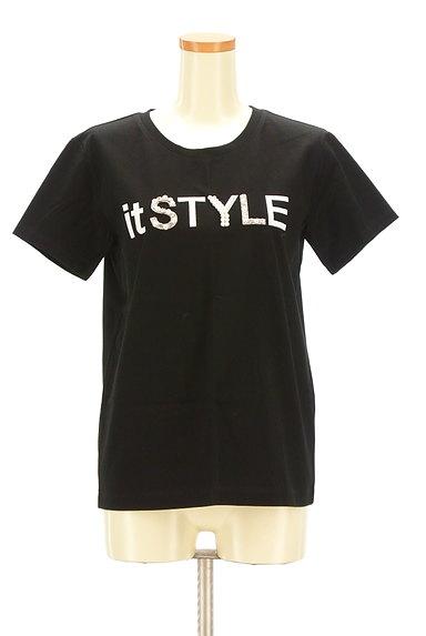 Pinky&Dianne(ピンキー&ダイアン)の古着「パールロゴプリントTシャツ(Tシャツ)」大画像1へ