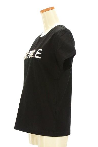 Pinky&Dianne(ピンキー&ダイアン)の古着「パールロゴプリントTシャツ(Tシャツ)」大画像3へ