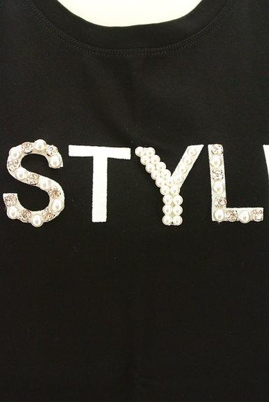 Pinky&Dianne(ピンキー&ダイアン)の古着「パールロゴプリントTシャツ(Tシャツ)」大画像4へ