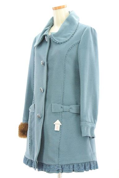 axes femme(アクシーズファム)の古着「ファー付きガーリーフレアコート(コート)」大画像4へ