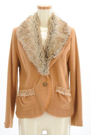axes femme(アクシーズファム)の古着「ファー付きガーリージャケット(コート)」大画像1へ