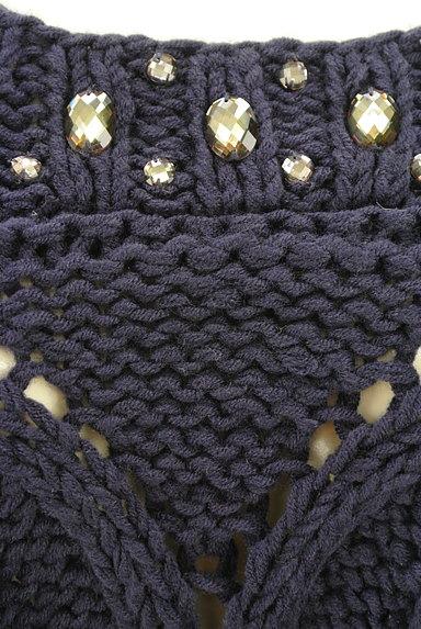 axes femme(アクシーズファム)の古着「ローゲージ7分袖ペプラムニット(ニット)」大画像4へ