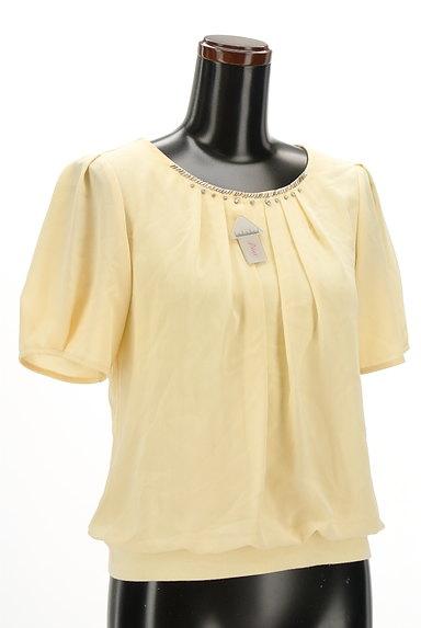 Reflect(リフレクト)の古着「装飾シフォンプルオーバー(カットソー・プルオーバー)」大画像4へ