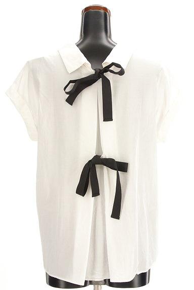 31 Sons de mode(トランテアン ソン ドゥ モード)の古着「バックリボンフレンチシャツ(カジュアルシャツ)」大画像2へ