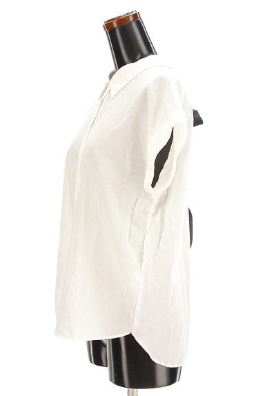 31 Sons de mode(トランテアン ソン ドゥ モード)の古着「バックリボンフレンチシャツ(カジュアルシャツ)」大画像3へ