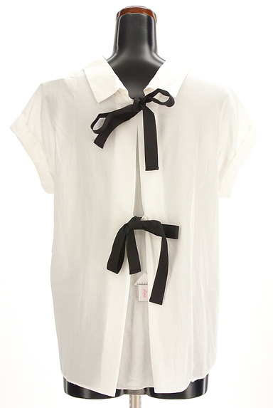 31 Sons de mode(トランテアン ソン ドゥ モード)の古着「バックリボンフレンチシャツ(カジュアルシャツ)」大画像4へ