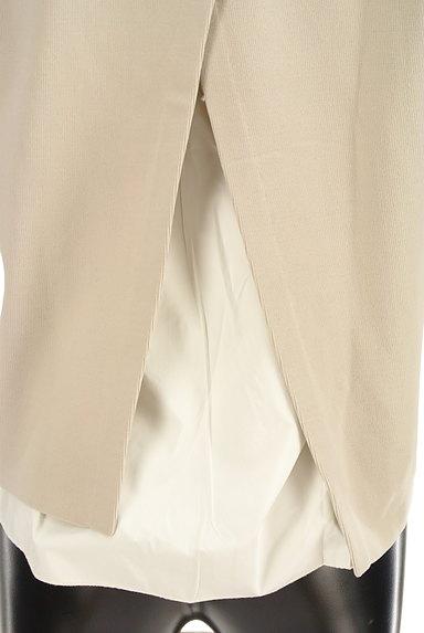 Rouge vif La cle(ルージュヴィフラクレ)の古着「背面レイヤードストレッチカットソー(ニット)」大画像4へ