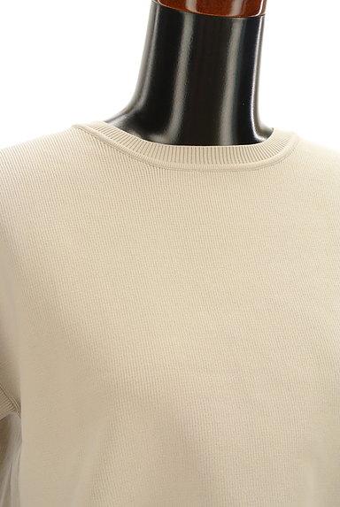 Rouge vif La cle(ルージュヴィフラクレ)の古着「背面レイヤードストレッチカットソー(ニット)」大画像5へ