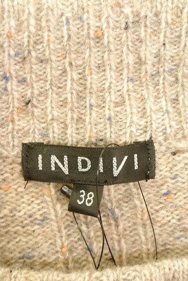 INDIVI(インディヴィ)の古着「ミックスニットロングワンピース(ワンピース・チュニック)」大画像6へ