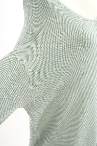 SM2(サマンサモスモス)の古着「Vネックドルマンパステルニット(ニット)」大画像5へ
