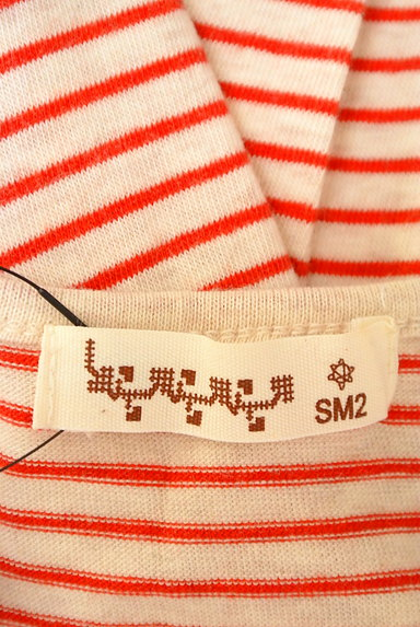 SM2(サマンサモスモス)の古着「カラーボーダーカットソー(カットソー・プルオーバー)」大画像6へ