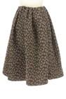 BEAMS Women's(ビームス ウーマン)の古着「スカート」後ろ