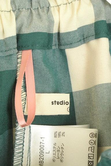 studio CLIP(スタディオクリップ)の古着「チェック柄ロングフレアスカート(ロングスカート・マキシスカート)」大画像6へ