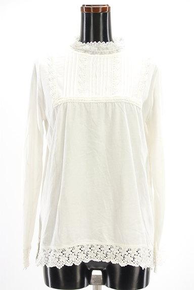 SM2(サマンサモスモス)の古着「刺繍レースカットソー(カットソー・プルオーバー)」大画像1へ
