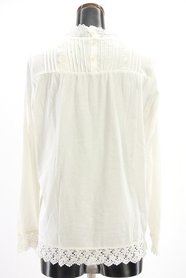 SM2(サマンサモスモス)の古着「刺繍レースカットソー(カットソー・プルオーバー)」大画像2へ