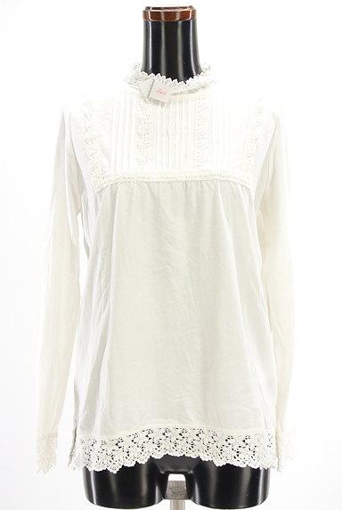 SM2(サマンサモスモス)の古着「刺繍レースカットソー(カットソー・プルオーバー)」大画像4へ