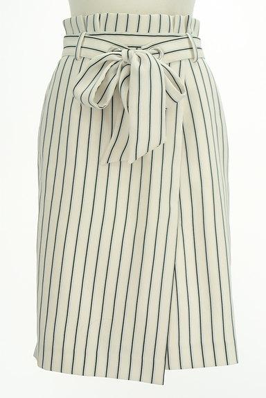 Apuweiser riche(アプワイザーリッシェ)の古着「膝下丈ウエストリボンラップ風スカート(スカート)」大画像1へ