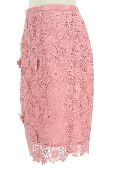 rienda(リエンダ)の古着「花柄刺繍レース膝丈スカート(スカート)」大画像3へ