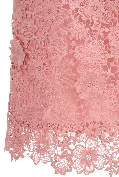 rienda(リエンダ)の古着「花柄刺繍レース膝丈スカート(スカート)」大画像5へ
