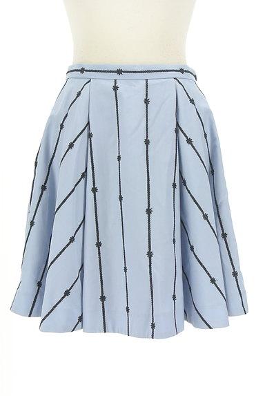 Rirandture(リランドチュール)の古着「花刺繍膝上丈フレアスカート(スカート)」大画像1へ