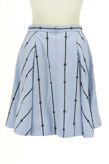 Rirandture(リランドチュール)の古着「花刺繍膝上丈フレアスカート(スカート)」大画像2へ