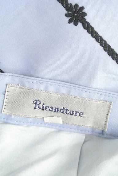 Rirandture(リランドチュール)の古着「花刺繍膝上丈フレアスカート(スカート)」大画像6へ