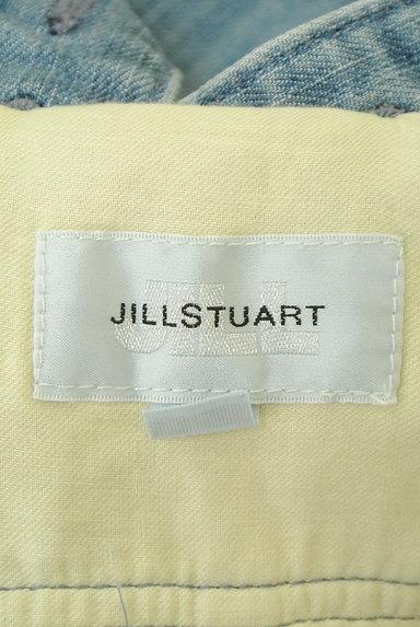 JILL by JILLSTUART(ジルバイジルスチュアート)の古着「ハイウエスト膝上丈サロペットスカート (オーバーオール・サロペット)」大画像6へ