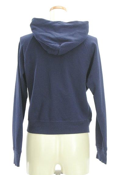 Rirandture(リランドチュール)の古着「装飾フード紐ジップパーカー(スウェット・パーカー)」大画像2へ