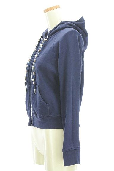 Rirandture(リランドチュール)の古着「装飾フード紐ジップパーカー(スウェット・パーカー)」大画像3へ
