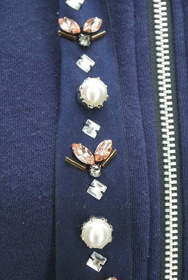 Rirandture(リランドチュール)の古着「装飾フード紐ジップパーカー(スウェット・パーカー)」大画像5へ
