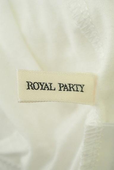 ROYAL PARTY(ロイヤルパーティ)の古着「花柄レースカットソー(カットソー・プルオーバー)」大画像6へ