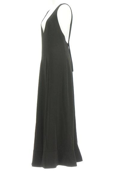 rienda(リエンダ)の古着「裾フリルサロペットパンツ(オーバーオール・サロペット)」大画像3へ