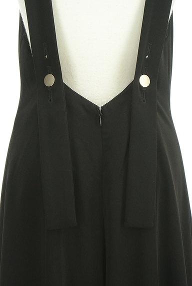 rienda(リエンダ)の古着「裾フリルサロペットパンツ(オーバーオール・サロペット)」大画像4へ