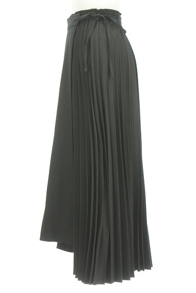 rienda(リエンダ)の古着「ラップ付きプリーツスカート(ロングスカート・マキシスカート)」大画像3へ