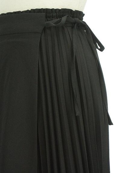 rienda(リエンダ)の古着「ラップ付きプリーツスカート(ロングスカート・マキシスカート)」大画像4へ