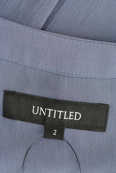 UNTITLED(アンタイトル)の古着「フレンチスリーブロングワンピース(ワンピース・チュニック)」大画像6へ