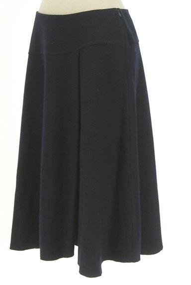 UNTITLED(アンタイトル)の古着「膝下丈フレアウールスカート(スカート)」大画像3へ