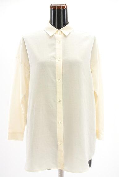 Spick and Span(スピック&スパン)の古着「シンプルロングシャツ(カジュアルシャツ)」大画像1へ